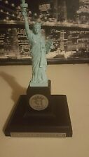 Statue Of Liberty Figurine Danbury Mint Centennial w Actual Copper from Statue