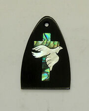 Truss Rod Cover with Dove & Cross Inlay 02 will fit PRS