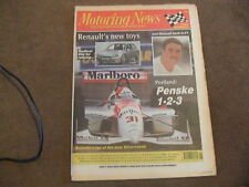 Motoring News 29 June 1994 Renault Clio Maxi Ypres Ieper Rally Portland Indycar