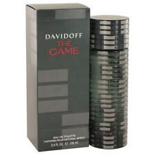 THE  GAME BY DAVIDOFF 3.4/3.3 OZ. EDT SPRAY FOR MEN NEW IN BOX