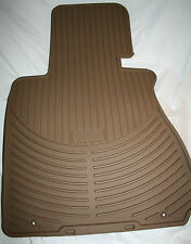 2005 TO 2010 BMW X3 All Season Rubber Floor Mats -FACTORY OEM - Set of 4 - BEIGE