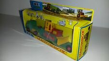Matchbox King Size K-17a Low Loader with Bulldozer 1967 mit Bister Repro Box