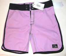 QUICKSILVER(£66RRP)Men's XSmall Board Shorts Size 28-Purple Haze/Black Trim-BNWT