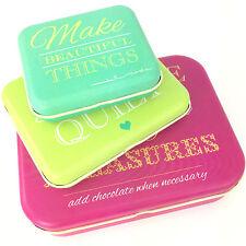 MODA 3 Tin 'Sayings' Gift Set, Christmas / Birthday Gift