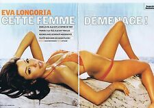 COUPURE DE PRESSE CLIPPING 2005 EVA LONGORIA (6 pages)