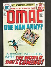 "OMAC #1 ~ ""Brother Eye and Buddy Blank"" ~ 1974 (7.0) WH"