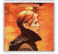 DAVID BOWIE - LOW LP COVER FRIDGE MAGNET IMAN NEVERA