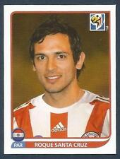 PANINI-SOUTH AFRICA 2010 WORLD CUP- #444-PARAGUAY & MANCHSTER C-ROQUE SANTA CRUZ