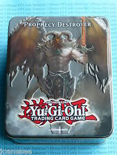 YU-GI-OH Prophecy Destroyer COLLECTOR'S TIN 2012 WAVE 2.5 NUOVO CON SCATOLA SIGILLATO NUOVO