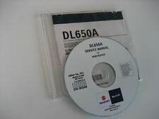 SUZUKI DL650 V-STROM ABS L2- REPARATUR CD WERKSTATT HANDBUCH SERVICE MANUAL NEW