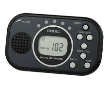 SEIKO DM100 Multi Function Quartz Metronome BLACK