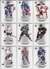 2012-13 SP AUTHENTIC BASE SET WITH MOMENTS CARDS 210 CARDS