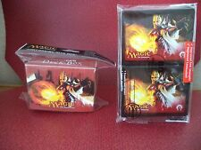 Ultra Pro MTG Sunhome Guildmage Boros Gatecrash Deck Box & Protector Sleeves