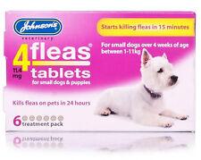 Johnson's 4 puces comprimés, petit chien ou chiot, 6 pack