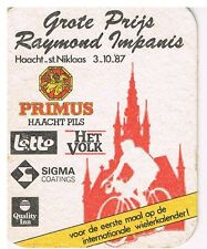 Dataviltje Br Primus - Grote prijs Raymond Impanis Haacht - St Niklaas 3-10-1987