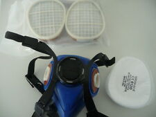 PROFI Atemschutzmaske Lackiermaske austauschbaren Filterpatrone +Lackieroverall