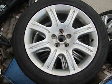 "JAGUAR XJ8 XJR VANDEN PLAS SET OF 4 WHEELS RIMS TIRES 18"" 2004-05-06-07-08-2009"