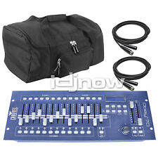 Chauvet OBEY 70 LED Universal DMX-512 Lighting Controller W/ Cables &  Bag
