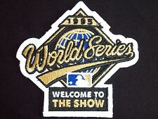 Official MLB 1995 WORLD SERIES Jersey Patch - Indians vs. Braves - NEW/MINT