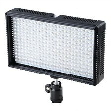 LED 312 DSLR Camera & Camcorder Video Light 312AS Bi-Color Changing Dimmable LED