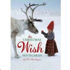 Christmas Wish Blank Note Cards, NEW