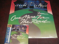 LYNYRD SKYNYRD ONE MORE FROM ROAD RARE JAPAN OBI Replica CD + 180 GRAM 2 LP SET