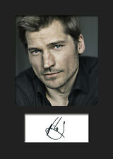NIKOLAJ COSTER-WALDAU  #1 A5 Signed Mounted Photo Print - FREE DELIVERY