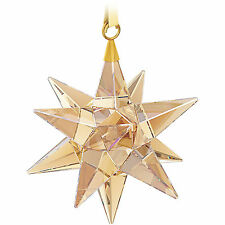 SWAROVSKI STAR 3D ORNAMENT GOLDEN SHADOW #5064260 BRAND NEW IN BOX CHRISTMAS F/S