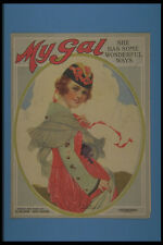 305054 My Gal She Has Some Wonderful Ways Copyright 1919 A4 Photo Print