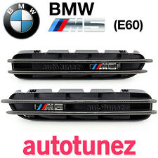 Carbon Fiber Side Fender Air Vent BMW M5 E60 5 Series Tunezup