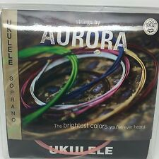 Aurora Ukulele Soprano Coloured Strings