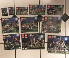 11 Lego Monster Fighter Sets With All The Pieces, And Minifigures NO BOXES