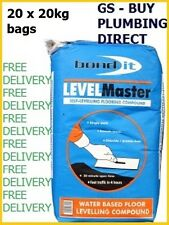 Bond It LEVELMASTER SELF LEVEL FLOOR LEVELLING COMPOUND 20KG GREY x 20 bags
