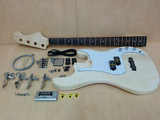 Electric Bass Guitar DIY Kits EB-303DIY w/Free Digital Tuner, Picks