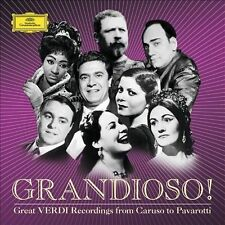 Grandioso! (Great Verdi Recordings From Caruso To Pavarotti) [7 CD], New Music
