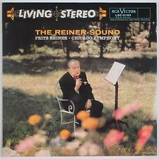 THE REINER SOUND: Chicago Symphony LIVING STEREO Classic Records 180g LP NM