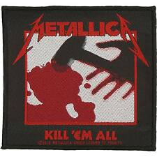 Metallica Men's Kill 'Em All Woven Patch Multi