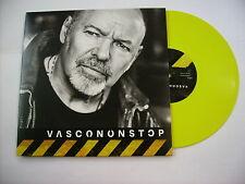 """VASCO ROSSI - VASCONONSTOP EP - 10"""" YELLOW VINYL NUMBERED NEW 2017 - COPY # 1219"""