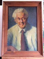 Josef Dominicus 1885-1973 zugeschrieben, Bildnis Dr. Heinrich Schmidt, Ölgemälde
