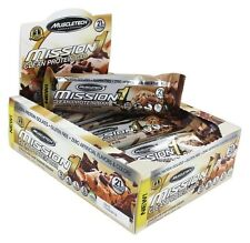 Muscletech Products - Mission1 Clean Protein Bar Chocolate Chip Cookie Dough -