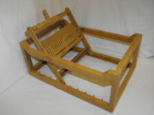 Vintage Marx E-Z Weaving Table Top Lap Loom - Plastic 1960's