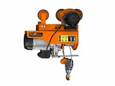 440 lbs. / 880 lbs. Electric Rope Hoist w/ Power Trolley upper limiter 110~120V
