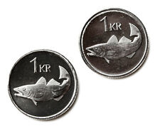Iceland Coin Cufflinks - Men's Jewelry - Handmade - Gift Box