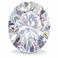 0.90CT Forever One Moissanite White Oval Loose Stone Charles & Colvard 7x5mm