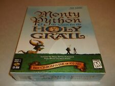 RARE Monty Python and the Quest for the Holy Grail PC Game - SEALED IN BIG BOX