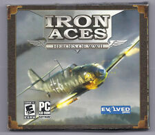 Iron Aces: Heroes of WWII Jewel Case (PC, 2007)