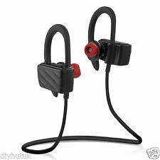Wireless Bluetooth 4.1 Sports Headset Sweatproof Headphones Noise Cancelling(E1)