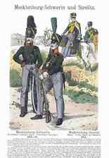 Military Uniforms 4010 A4 Photo Print Vintage War