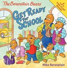 The Berenstain Bears Get Ready for School-ExLibrary