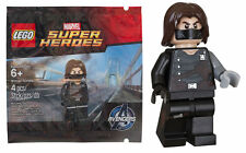 RARE avengers WINTER SOLDIER minifigure polybag SEALED promo MARVEL SUPER HEROES
